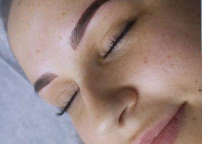 ombre eyebrow tattoo