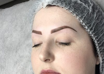 cosmetic eyebrow tattoo
